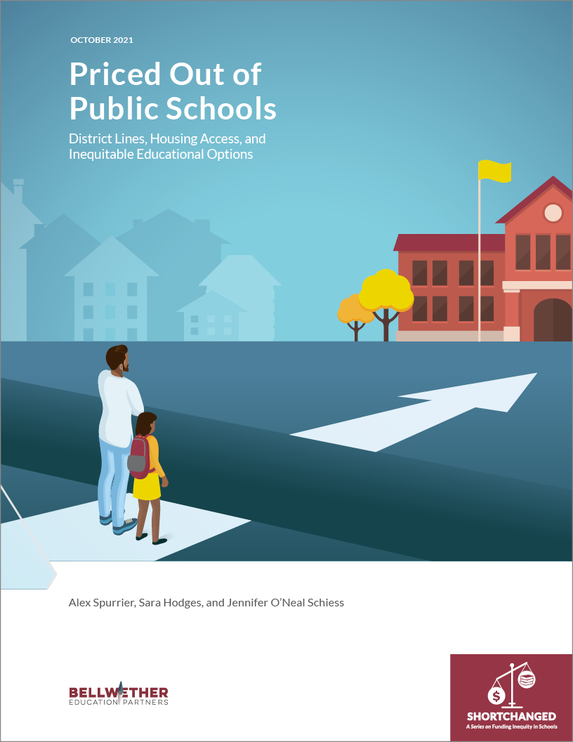 Cover page for Priced Out of Public Schools Report.