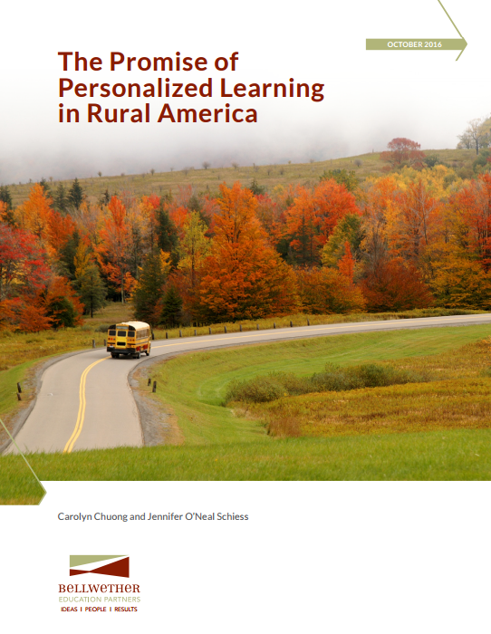 The Promise of Personalized Learning in Rural America
