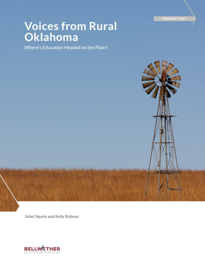 Voices from Oklahoma report cover