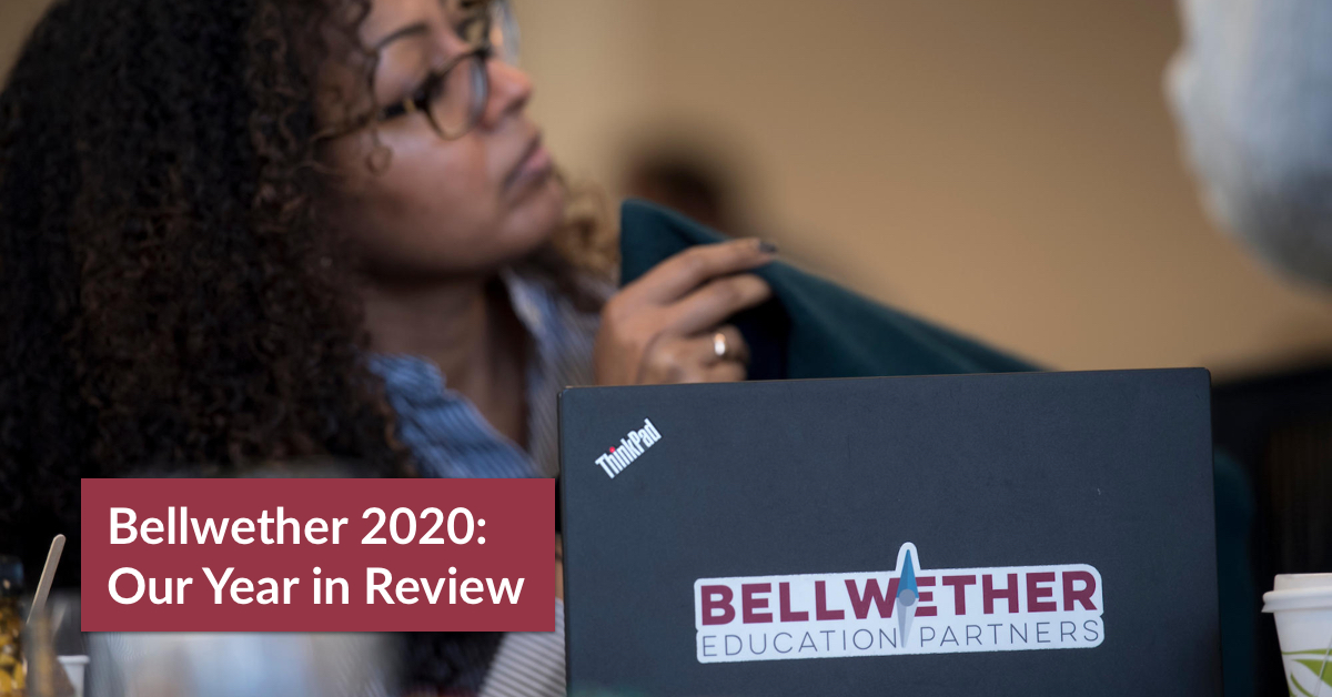 Title image for Bellwether 2020 Annual Report