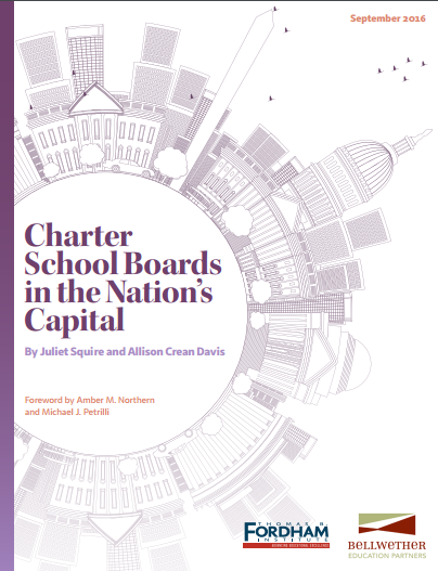 Charter School Boards in the Nation's Capital